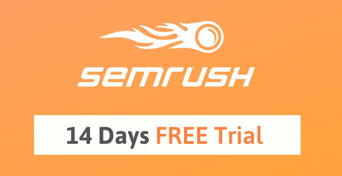 Semrush 14 days trial